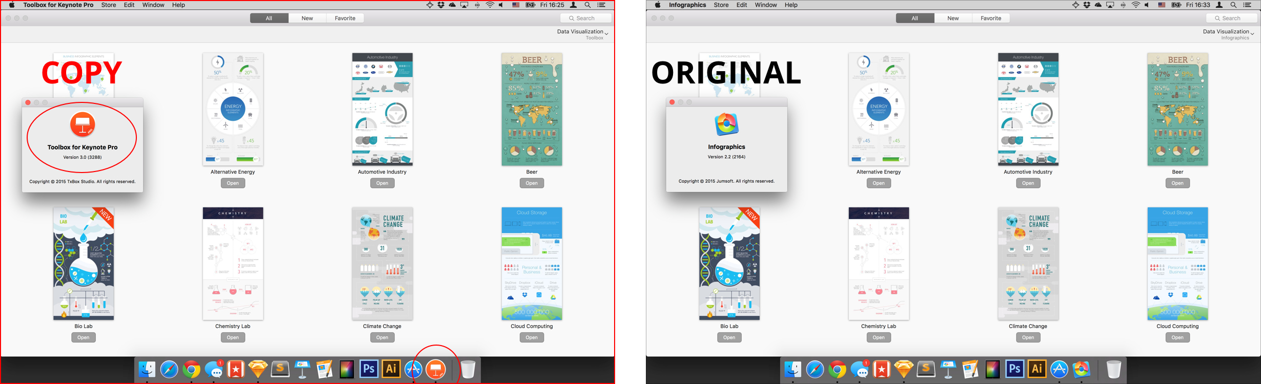 On Cases of Plagiarism on the Mac App Store - Jumsoft
