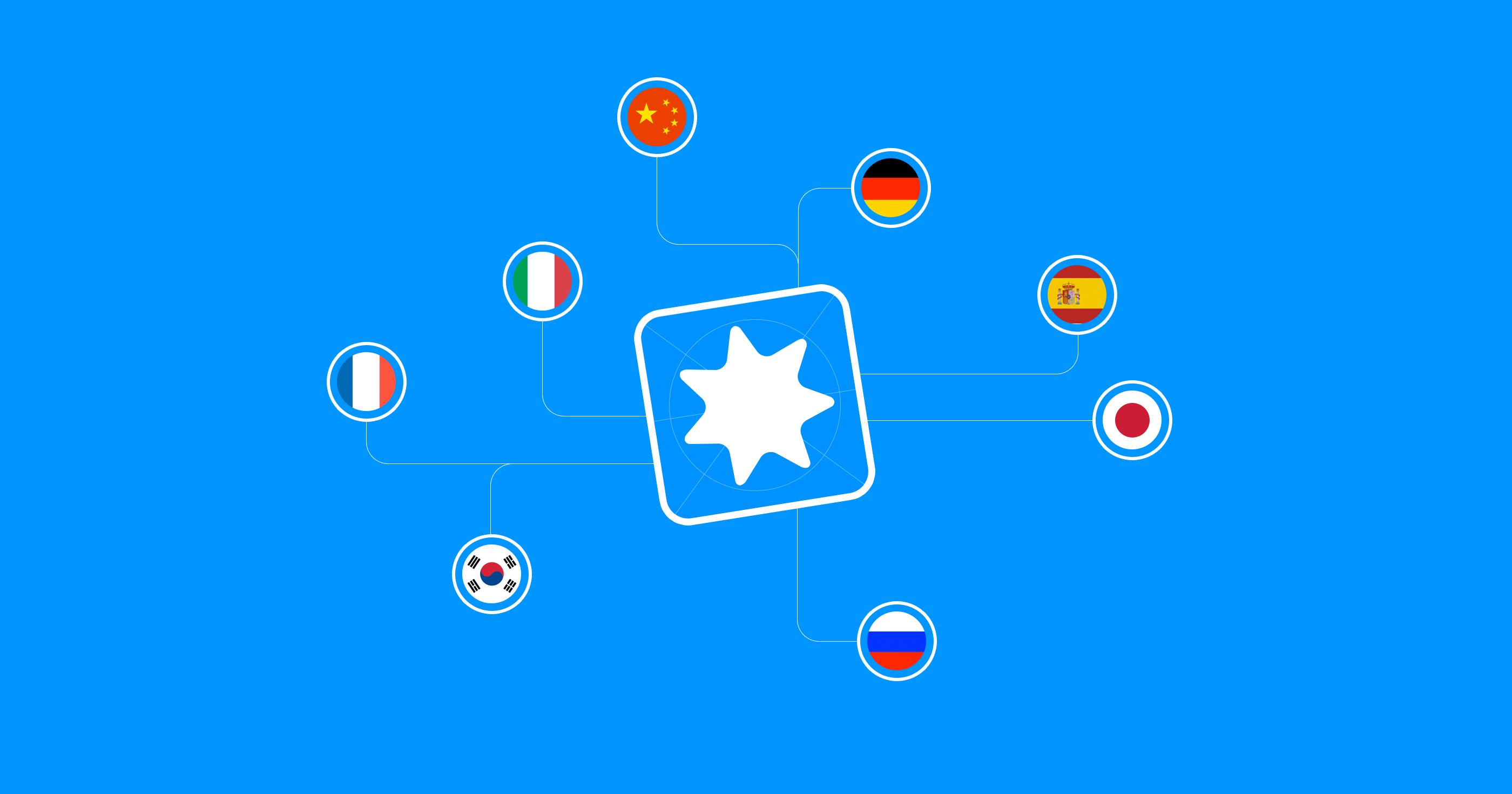 App languages